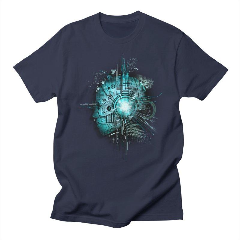 Techno Men's T-shirt by silentOp's Artist Shop