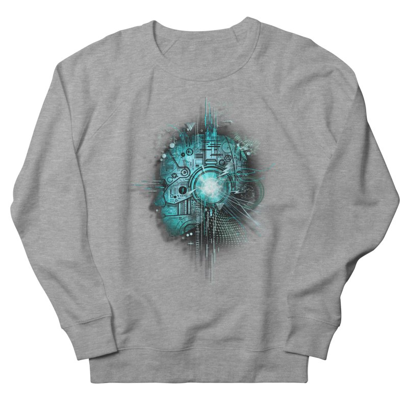 Techno Women's Sweatshirt by silentOp's Artist Shop