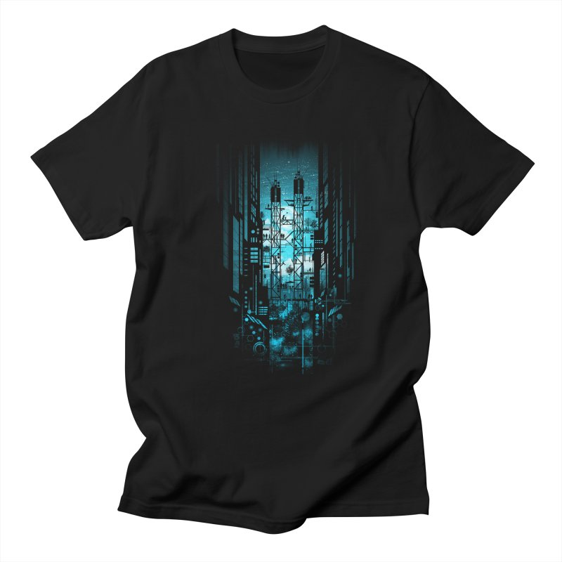 Steelscape Men's T-shirt by silentOp's Artist Shop