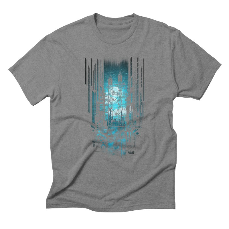 Steelscape Men's Triblend T-shirt by silentOp's Artist Shop