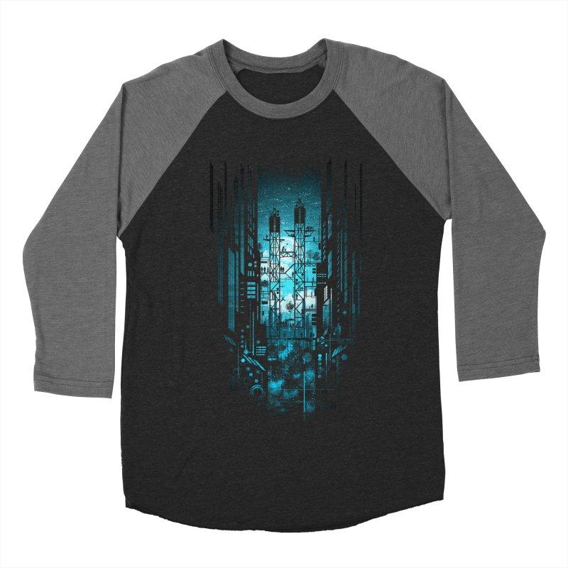 Steelscape Women's Baseball Triblend T-Shirt by silentOp's Artist Shop