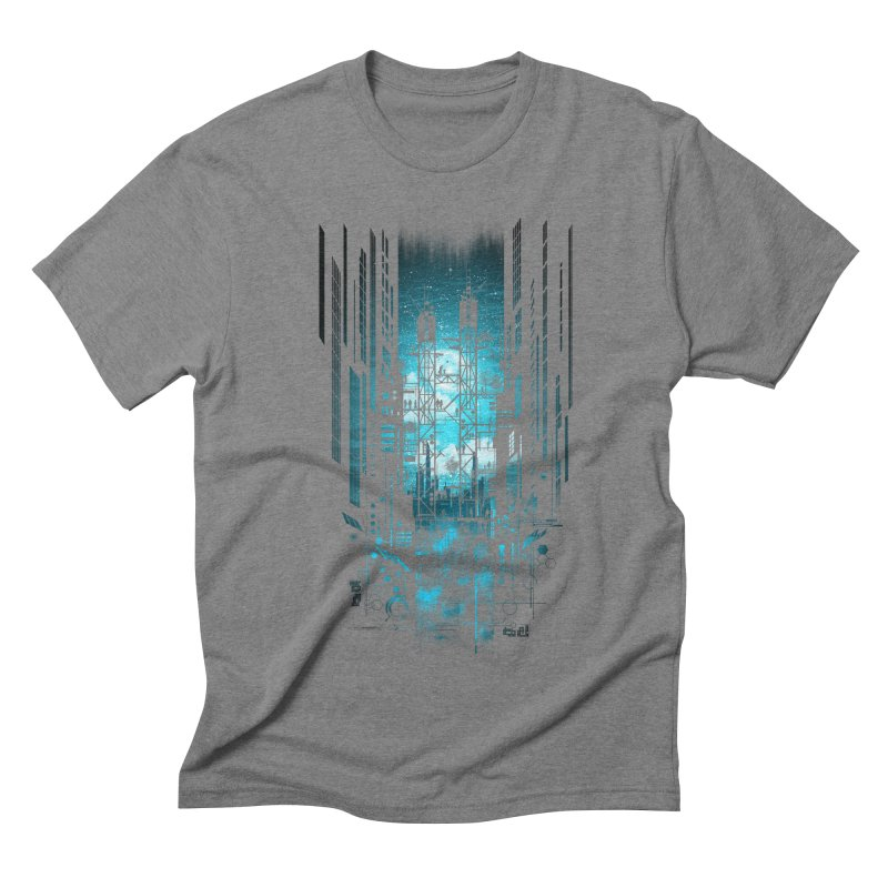 Steelscape Men's Triblend T-shirt by silentOp's Artist Shop