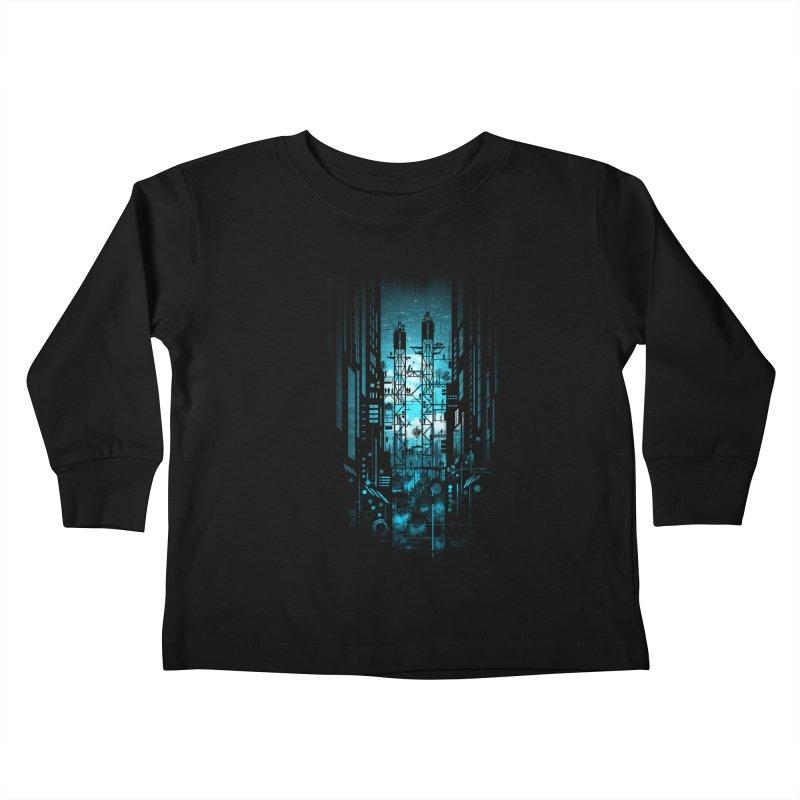 Steelscape Kids Toddler Longsleeve T-Shirt by silentOp's Artist Shop