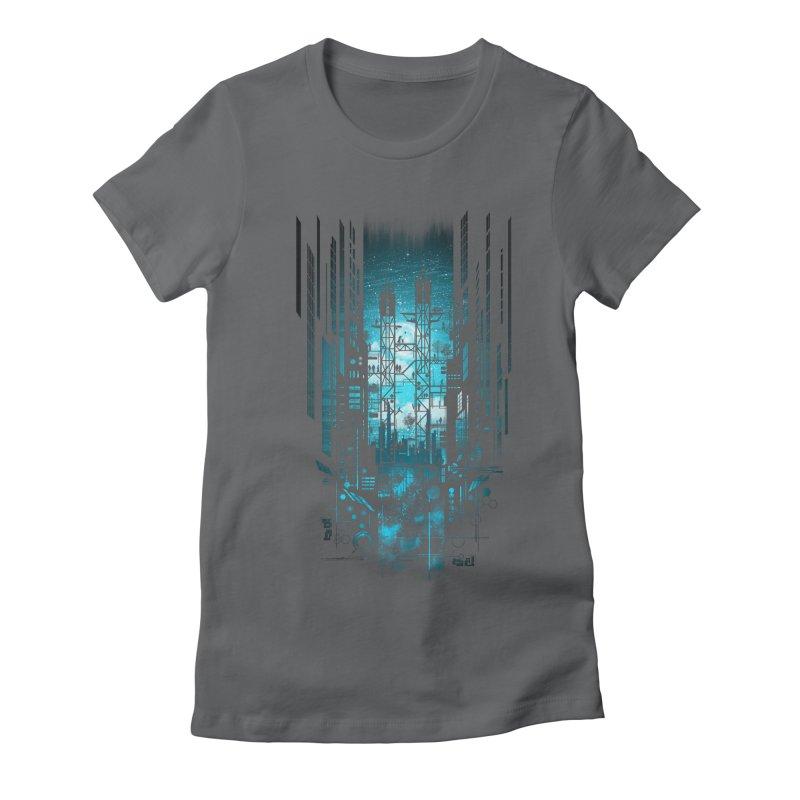 Steelscape Women's Fitted T-Shirt by silentOp's Artist Shop