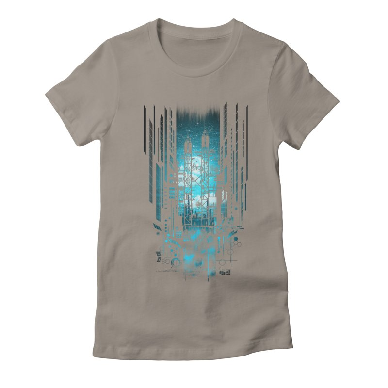 Steelscape Women's Fitted T-Shirt by silentOp's Artist Shop