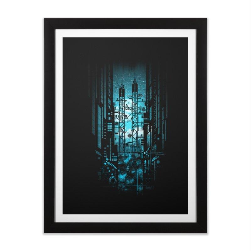 Steelscape Home Framed Fine Art Print by silentOp's Artist Shop
