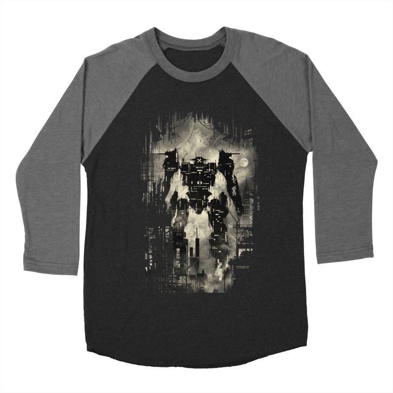 The Builder Men's Baseball Triblend T-Shirt by silentOp's Artist Shop