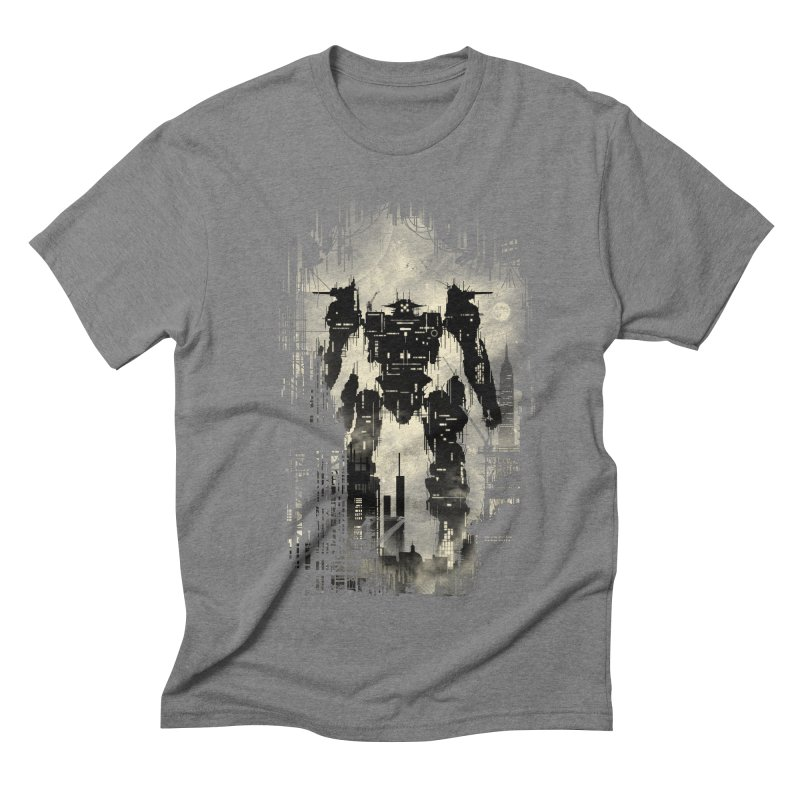 The Builder Men's Triblend T-shirt by silentOp's Artist Shop