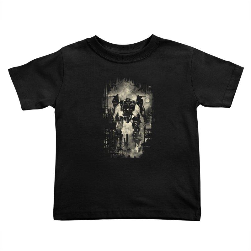 The Builder Kids Toddler T-Shirt by silentOp's Artist Shop
