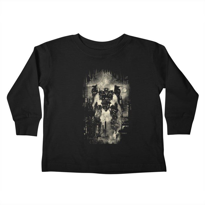 The Builder Kids Toddler Longsleeve T-Shirt by silentOp's Artist Shop