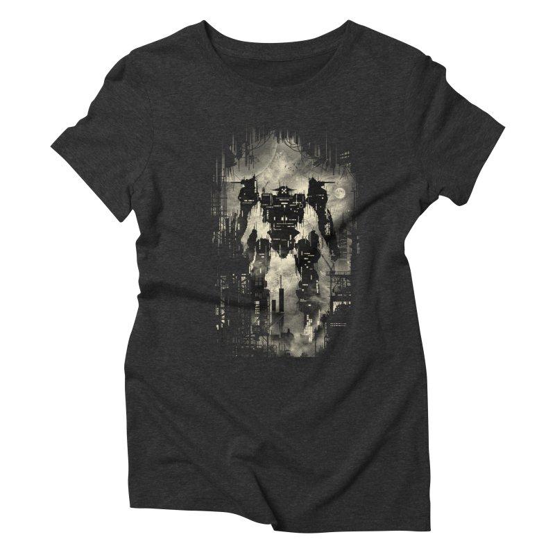 The Builder Women's Triblend T-shirt by silentOp's Artist Shop