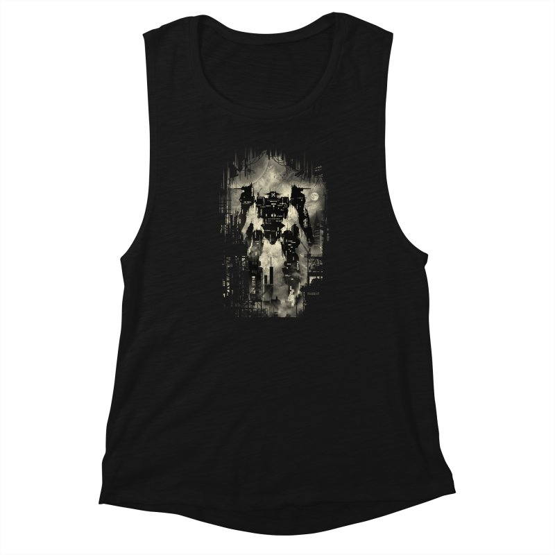 The Builder Women's Muscle Tank by silentOp's Artist Shop