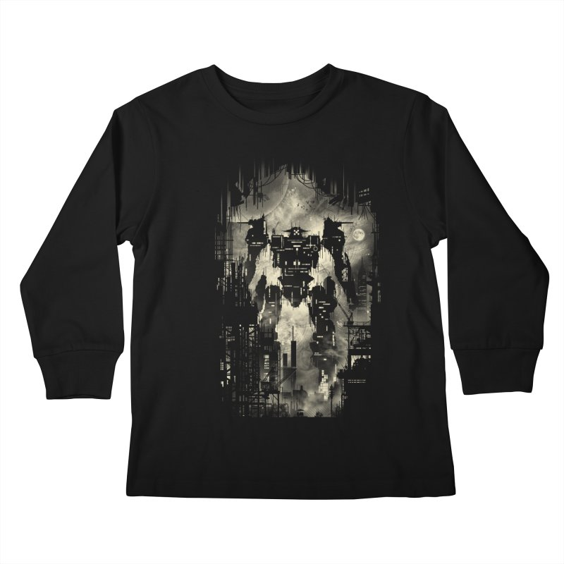 The Builder Kids Longsleeve T-Shirt by silentOp's Artist Shop