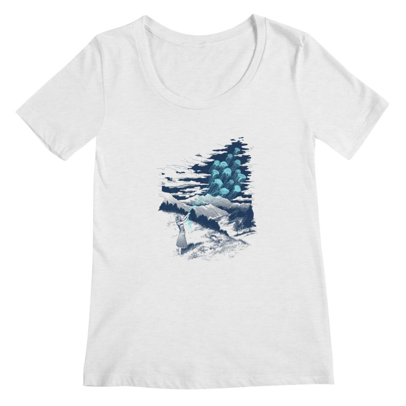 Release the Kindness Women's Scoopneck by silenTOP Artist Shop