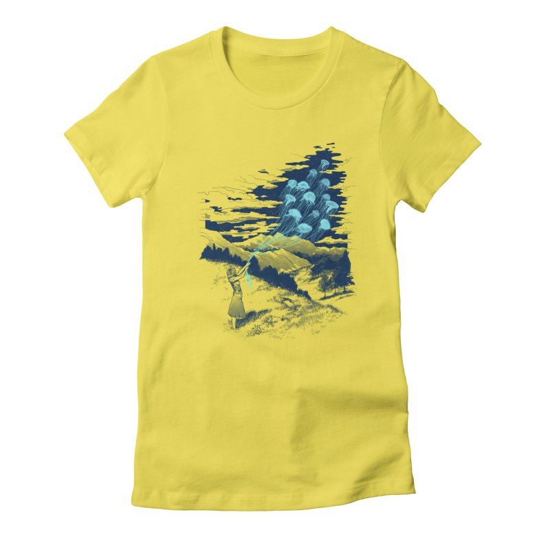 Release the Kindness Women's Fitted T-Shirt by silenTOP Artist Shop