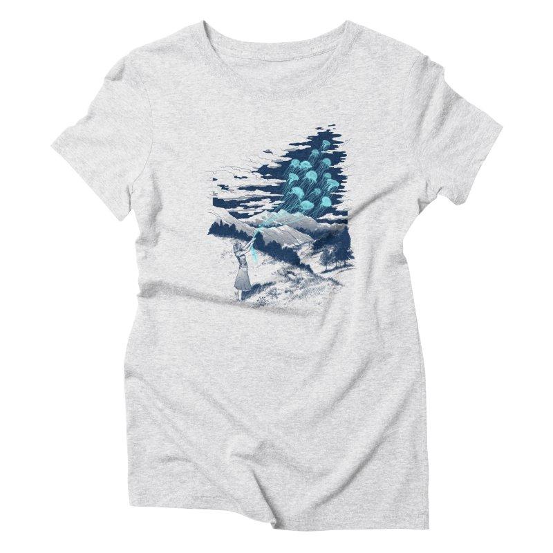 Release the Kindness Women's Triblend T-Shirt by silenTOP Artist Shop