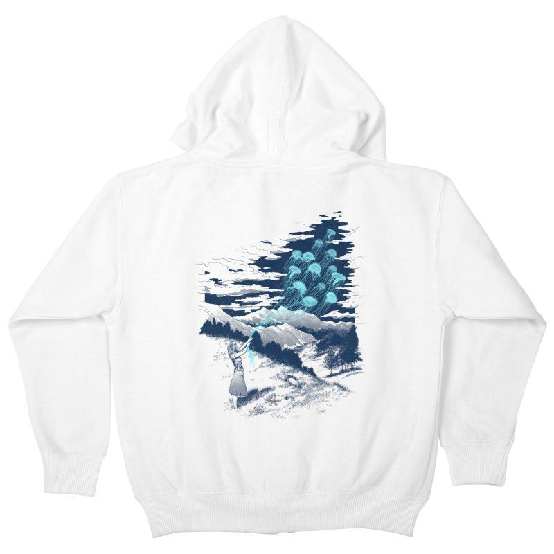 Release the Kindness Kids Zip-Up Hoody by silentOp's Artist Shop