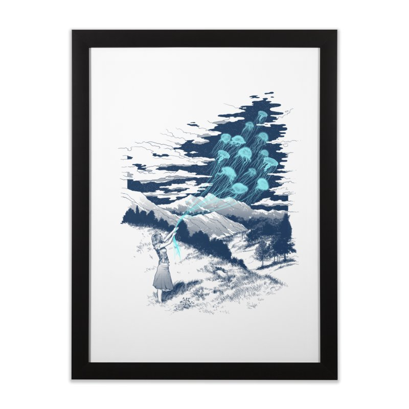 Release the Kindness Home Framed Fine Art Print by silenTOP Artist Shop