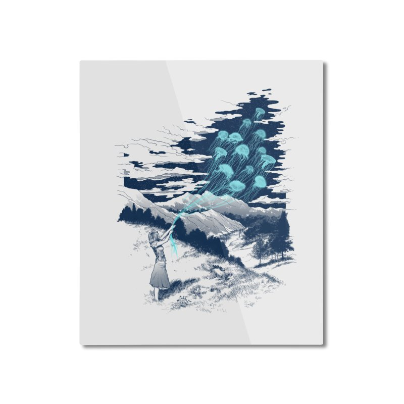 Release the Kindness Home Mounted Aluminum Print by silenTOP Artist Shop