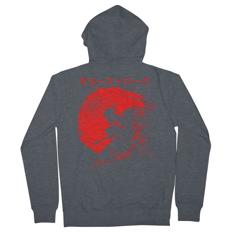 Killer Strokes Men's Zip-Up Hoody by silenTOP Artist Shop