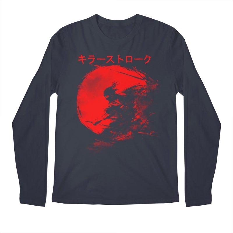Killer Strokes Men's Longsleeve T-Shirt by silenTOP Artist Shop
