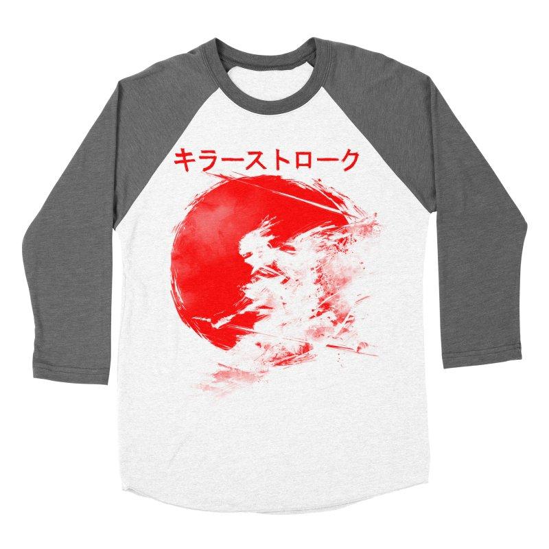 Killer Strokes Men's Baseball Triblend T-Shirt by silenTOP Artist Shop