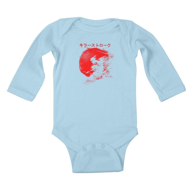 Killer Strokes Kids Baby Longsleeve Bodysuit by silenTOP Artist Shop
