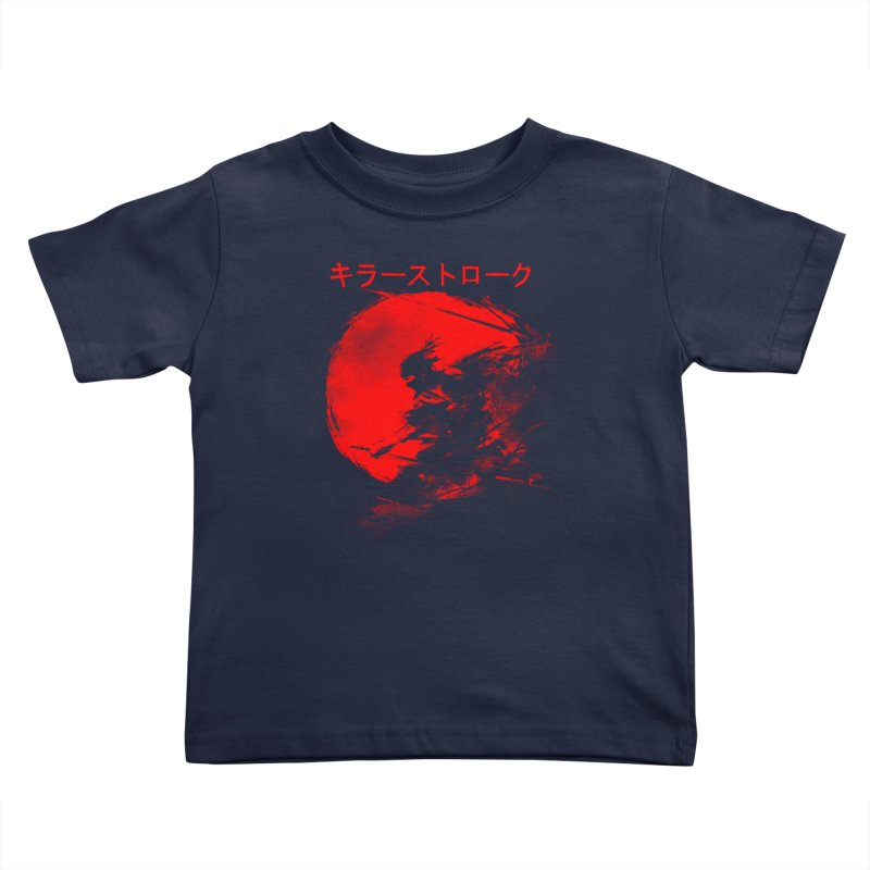Killer Strokes Kids Toddler T-Shirt by silenTOP Artist Shop