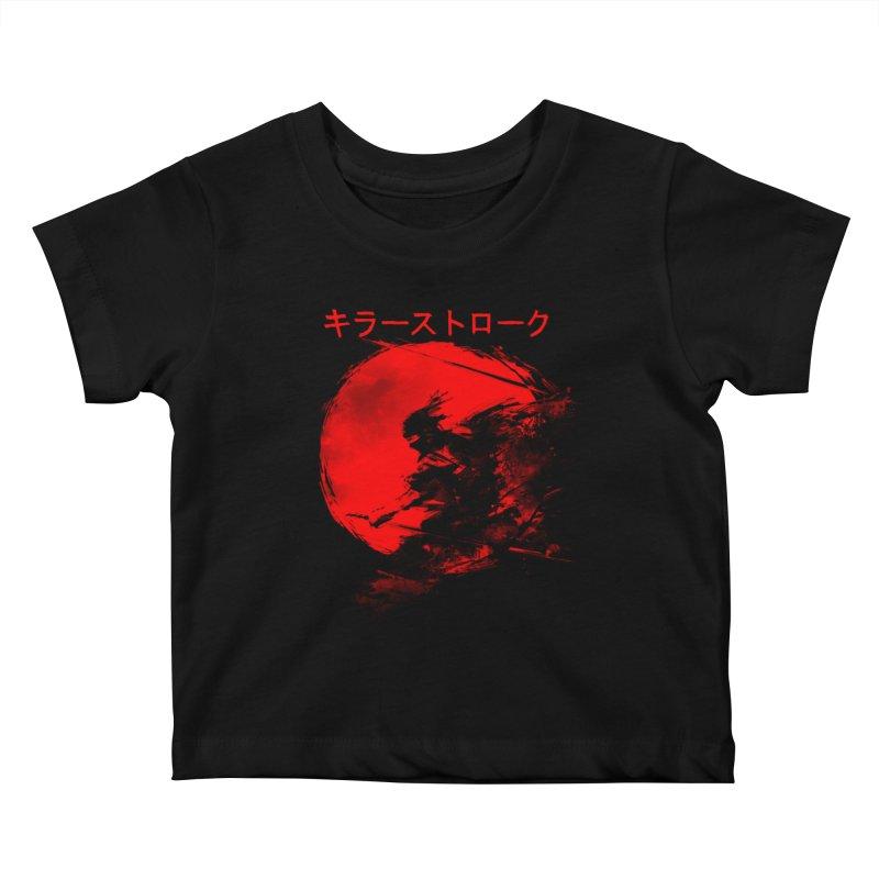 Killer Strokes Kids Baby T-Shirt by silentOp's Artist Shop