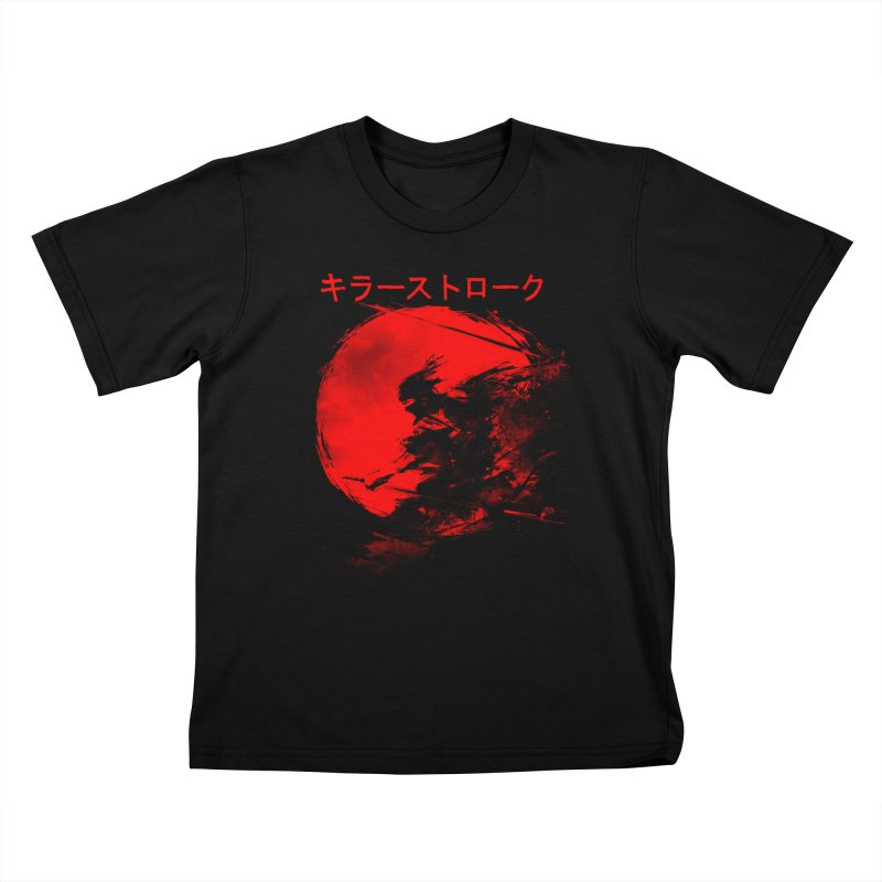 Killer Strokes Kids T-Shirt by silenTOP Artist Shop