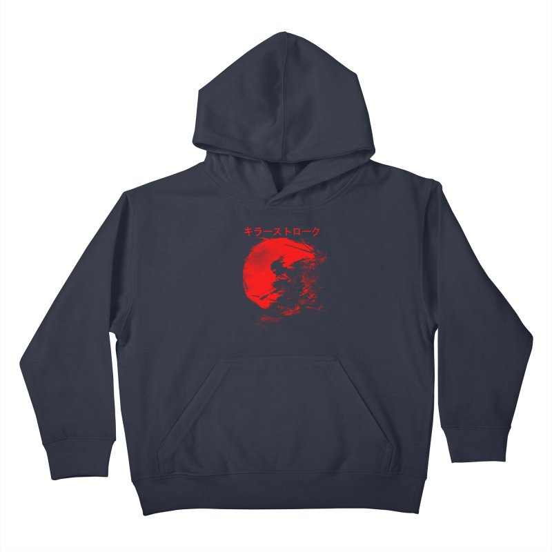 Killer Strokes Kids Pullover Hoody by silenTOP Artist Shop