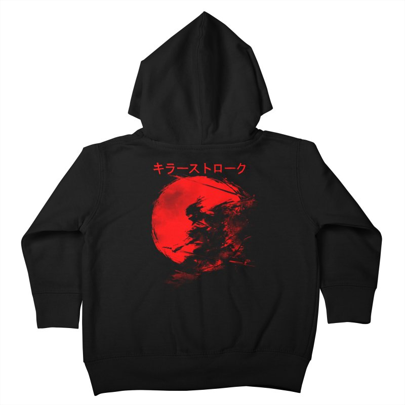 Killer Strokes Kids Toddler Zip-Up Hoody by silentOp's Artist Shop