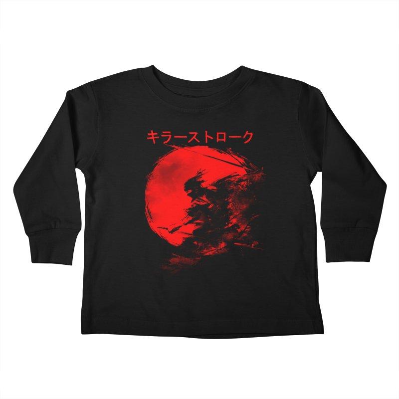 Killer Strokes Kids Toddler Longsleeve T-Shirt by silenTOP Artist Shop