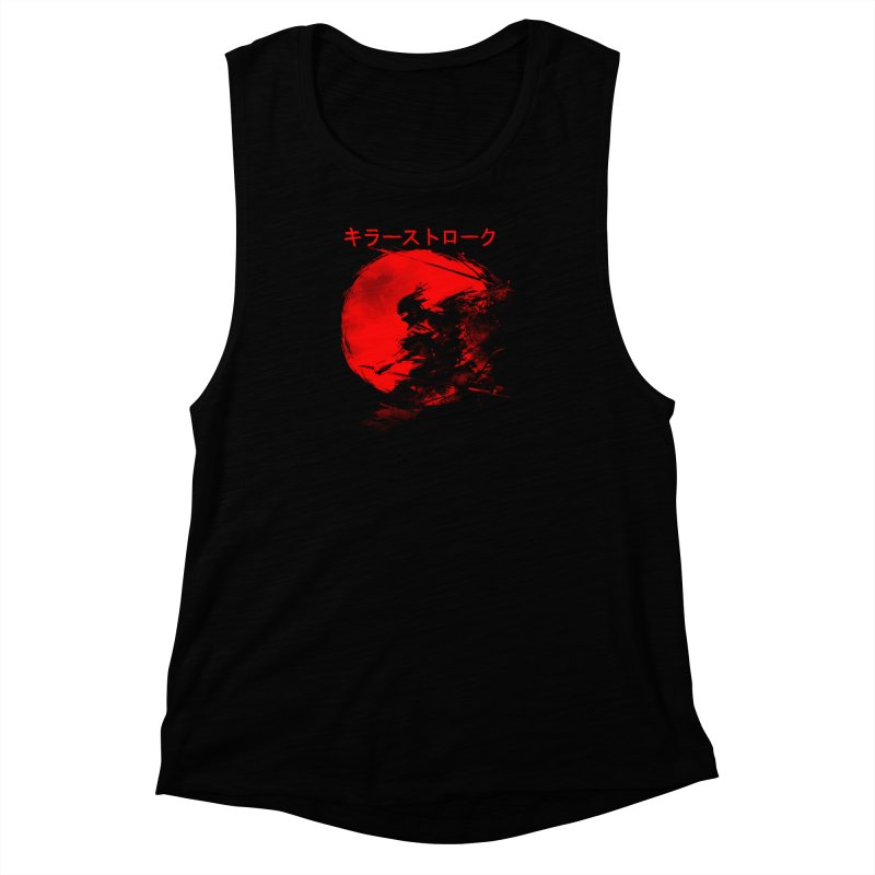 Killer Strokes Women's Muscle Tank by silentOp's Artist Shop