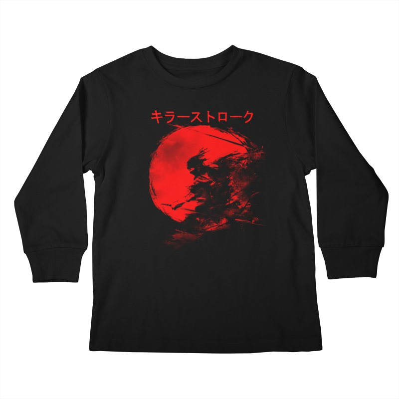 Killer Strokes Kids Longsleeve T-Shirt by silentOp's Artist Shop