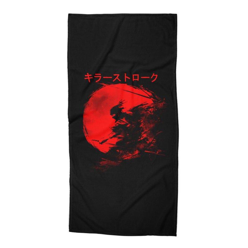Killer Strokes Accessories Beach Towel by silenTOP Artist Shop