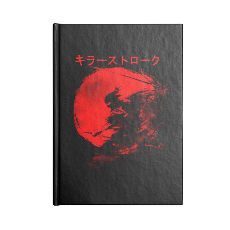 Killer Strokes Accessories Notebook by silenTOP Artist Shop