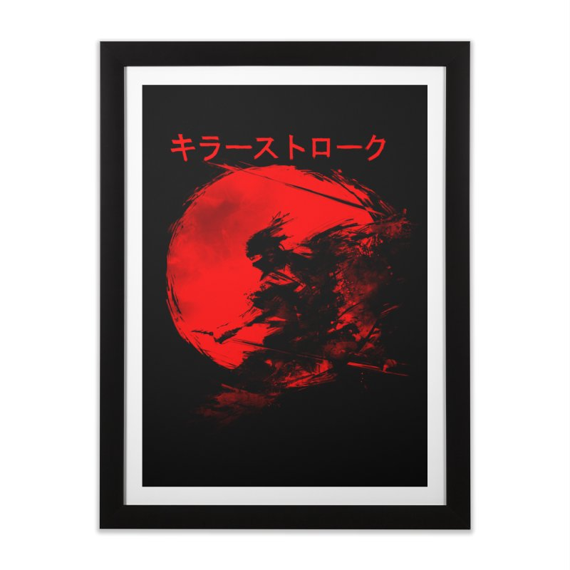 Killer Strokes Home Framed Fine Art Print by silenTOP Artist Shop