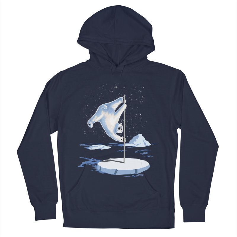 North Pole Dancer Men's Pullover Hoody by silentOp's Artist Shop