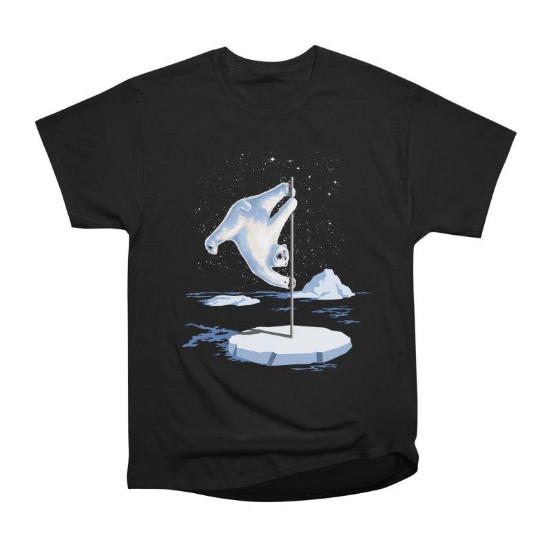 North Pole Dancer Men's Heavyweight T-Shirt by silenTOP Artist Shop