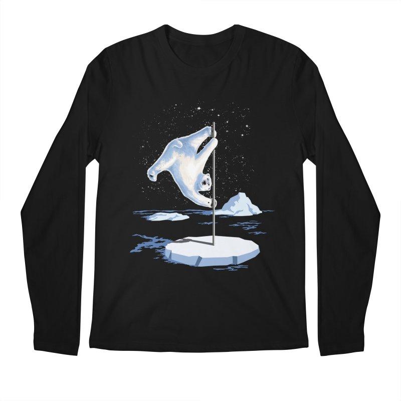 North Pole Dancer Men's Longsleeve T-Shirt by silenTOP Artist Shop