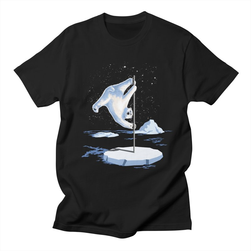 North Pole Dancer Men's T-shirt by silentOp's Artist Shop