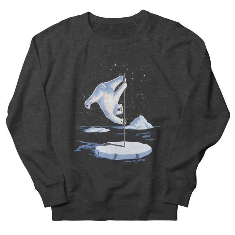 North Pole Dancer Women's French Terry Sweatshirt by silenTOP Artist Shop