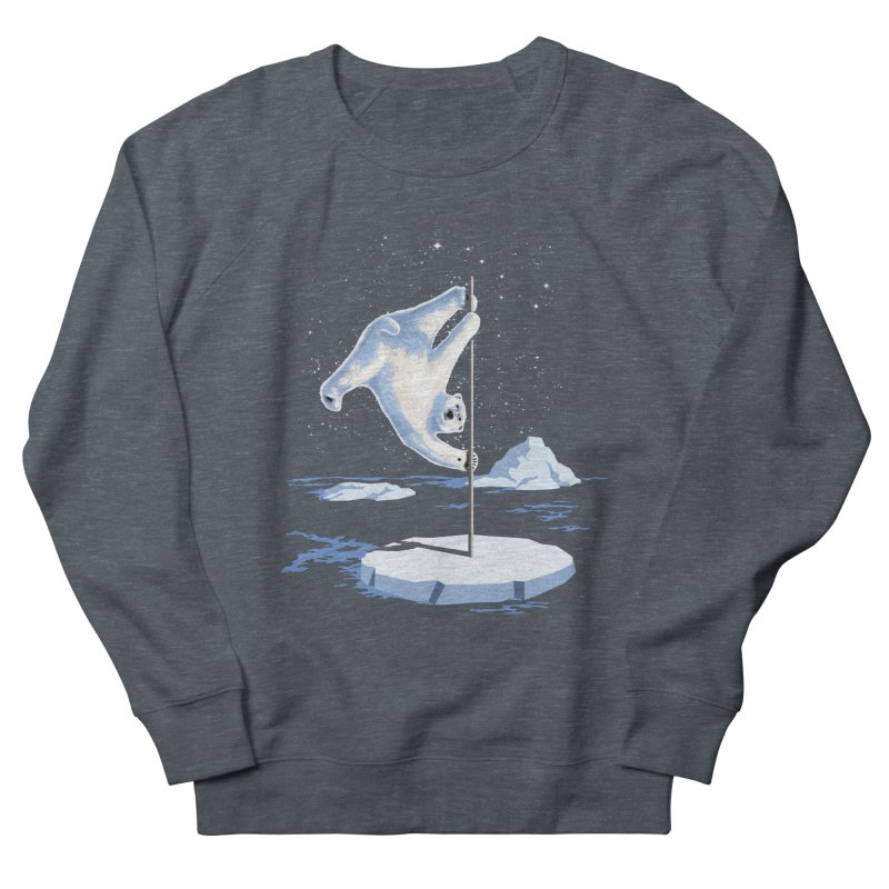 North Pole Dancer Women's Sweatshirt by silentOp's Artist Shop