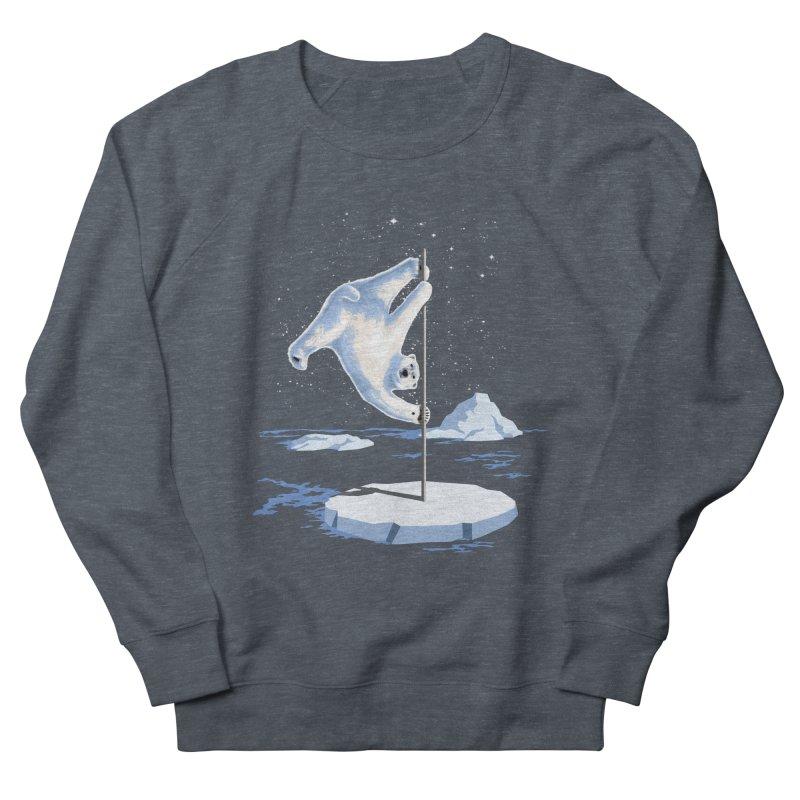 North Pole Dancer Men's Sweatshirt by silenTOP Artist Shop