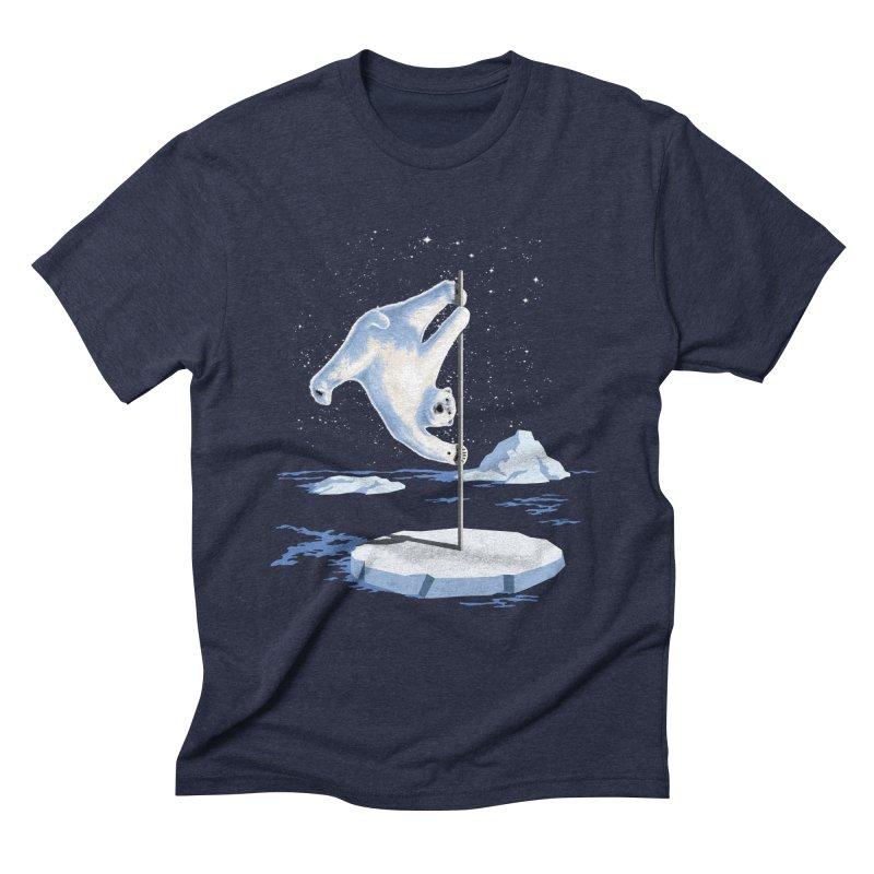 North Pole Dancer Men's Triblend T-Shirt by silenTOP Artist Shop