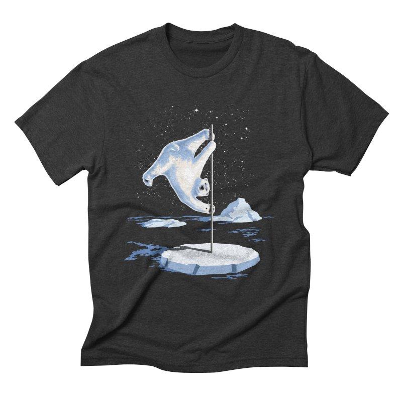 North Pole Dancer Men's Triblend T-shirt by silentOp's Artist Shop
