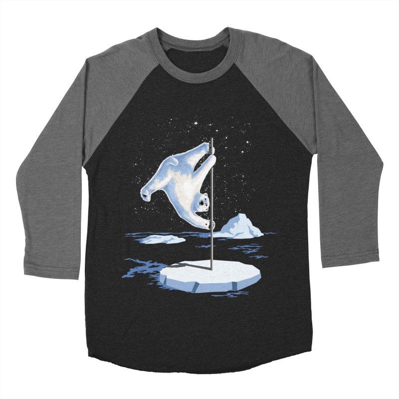 North Pole Dancer Men's Baseball Triblend T-Shirt by silenTOP Artist Shop
