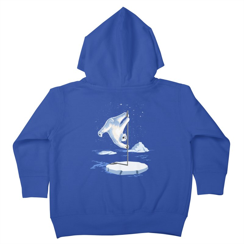 North Pole Dancer Kids Toddler Zip-Up Hoody by silentOp's Artist Shop