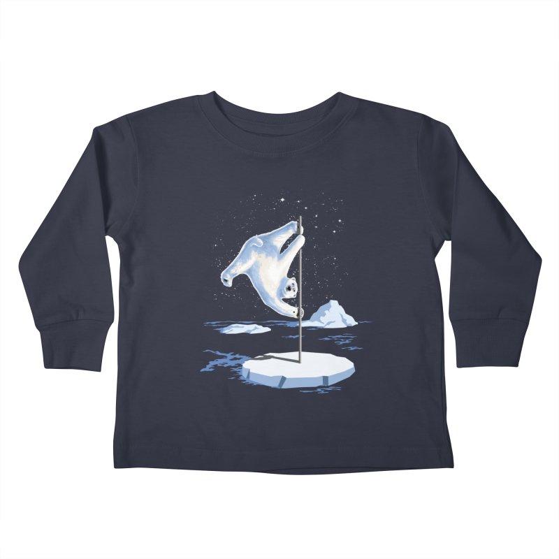 North Pole Dancer Kids Toddler Longsleeve T-Shirt by silenTOP Artist Shop